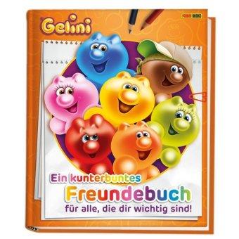 Gelini: Ein kunterbuntes Freundebuch für alle, die dir wichtig sind!