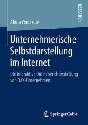Unternehmerische Selbstdarstellung im Internet