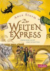 Der Welten-Express - Zwischen Licht und Schatten Cover