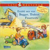 Erzähl mir von Bagger, Traktor, Feuerwehr Cover