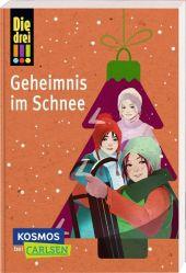 Die drei !!!: Geheimnis im Schnee Cover