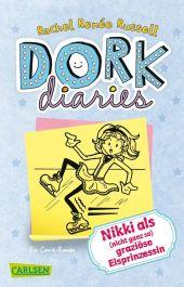 Dork Diaries - Nikki als (nicht ganz so) graziöse Eisprinzessin Cover