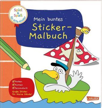 Mein buntes Sticker-Malbuch