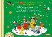 Übermorgen kommt der Weihnachtsmann, m. Audio-CD