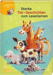 Starke Tier-Geschichten zum Lesenlernen Cover