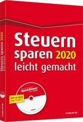 Steuern sparen 2020 leicht gemacht, m. CD-ROM Cover