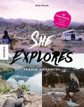 She Explores. Frauen unterwegs. Cover