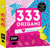 333 Origami - I love Neon!