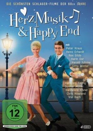 Herz, Musik & Happy End - Die schönsten Schlager-Filme der 60er Jahre, 4 DVD