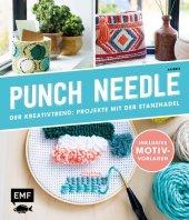 Punch Needle - Der Kreativtrend: Projekte mit der Stanznadel Cover