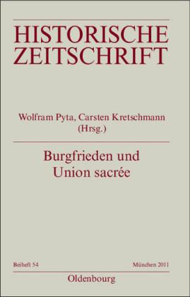 Burgfrieden und Union sacrée