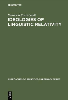 Ideologies of Linguistic Relativity