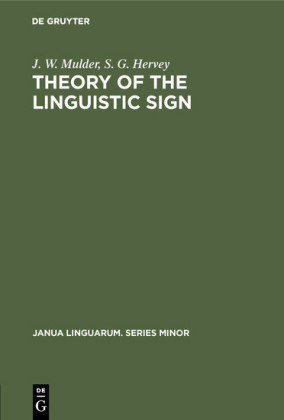 Theory of the Linguistic Sign