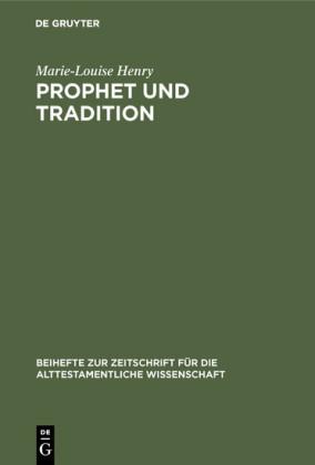 Prophet und Tradition