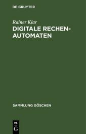 Digitale Rechenautomaten