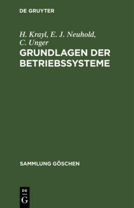 Grundlagen der Betriebssysteme
