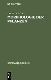 Morphologie der Pflanzen