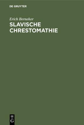 Slavische Chrestomathie