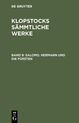 Salomo. Hermann und die Fürsten