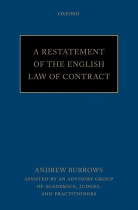 Restatement of the English Law of Contract