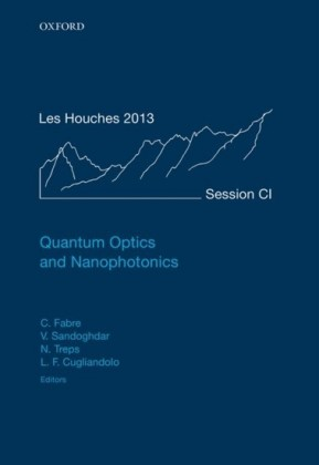 Quantum Optics and Nanophotonics