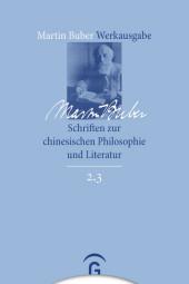 Schriften zur chinesischen Philosophie und Literatur