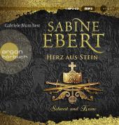 Schwert und Krone - Herz aus Stein, 1 Audio-CD, MP3