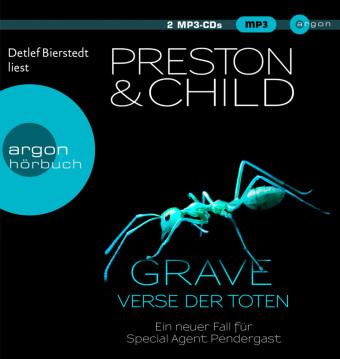 Grave - Verse der Toten, 2 MP3-CDs