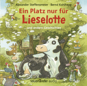 Ein Platz nur für Lieselotte, 1 Audio-CD Cover