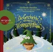 Die Geschichte vom traurigen Weihnachtsbaum, 1 Audio-CD Cover