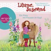 Liliane Susewind - Ein Pony mit Flausen im Kopf, 1 Audio-CD Cover