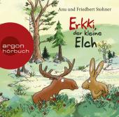 Erkki, der kleine Elch, 1 Audio-CD Cover