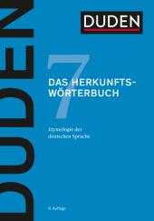 Duden - Das Herkunftswörterbuch Cover