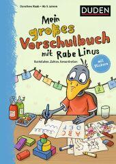 Mein großes Vorschulbuch mit Rabe Linus Cover