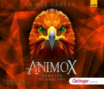 Animox 5. Der Flug des Adlers, 4 Audio-CDs