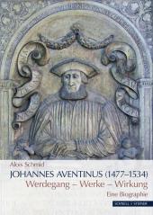 Johannes Aventinus (1477-1534) Cover
