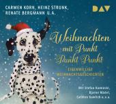 Weihnachten mit Punkt Punkt Punkt. Eigenwillige Weihnachtsgeschichten, 2 Audio-CDs Cover