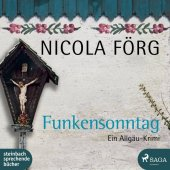 Funkensonntag, 1 Audio-CD, MP3 Cover