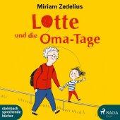 Lotte und die Oma-Tage, 1 Audio-CD Cover