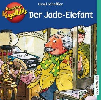 Kommissar Kugelblitz - Der Jade-Elefant, 1 Audio-CD
