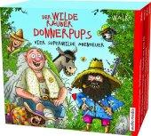 Der wilde Räuber Donnerpups - Vier superwilde Abenteuer, 4 Audio-CDs