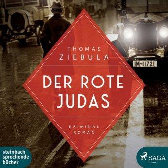 Der rote Judas, 2 Audio-CD, MP3