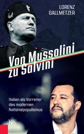Von Mussolini zu Salvini Cover