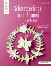 Schmetterlinge und Blumen aus Papier Cover
