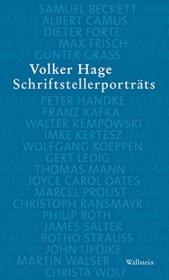 Schriftstellerporträts Cover