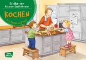 Kochen mit Emma und Paul. Kamishibai Bildkartenset