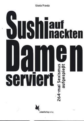 Sushi auf nackten Damen serviert