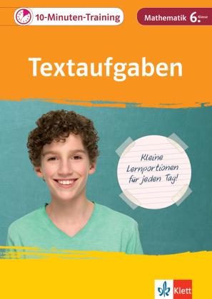 10-Minuten-Training Textaufgaben Mathematik 6. Klasse
