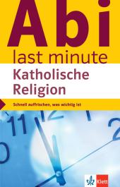 Klett Abi last minute Katholische Religion Cover