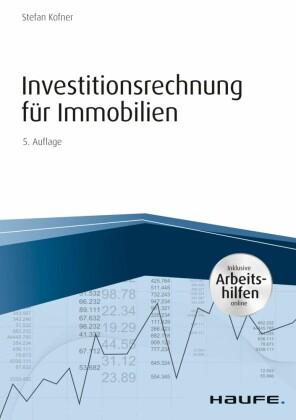 Investitionsrechnung für Immobilien - inkl. Arbeitshilfen online